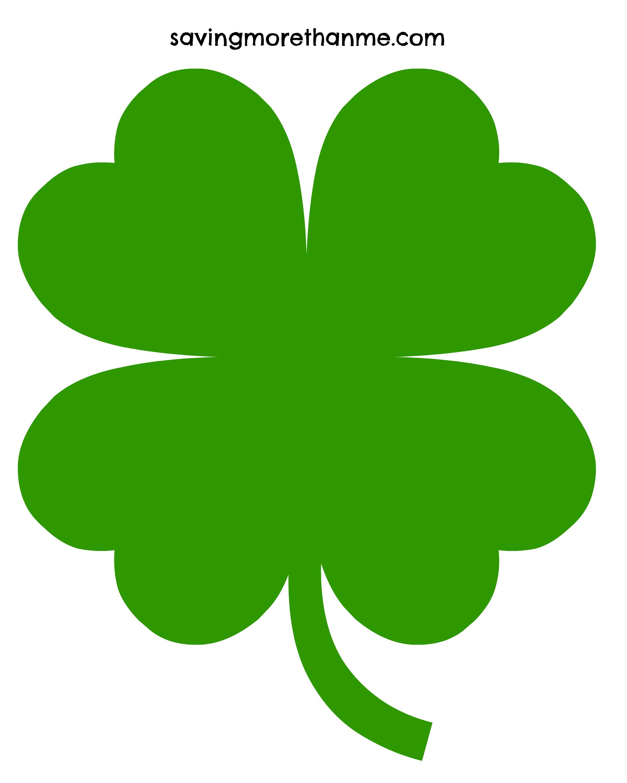 Four Leaf Clover Google Search Clover Leaf Art Clover Leaf Five Leaf Clover