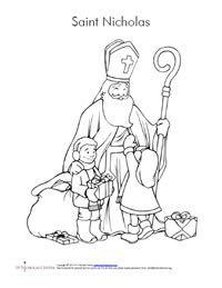 St Nicholas Center Preschool Lesson St Nicholas Day Saint Nicholas Nicholas