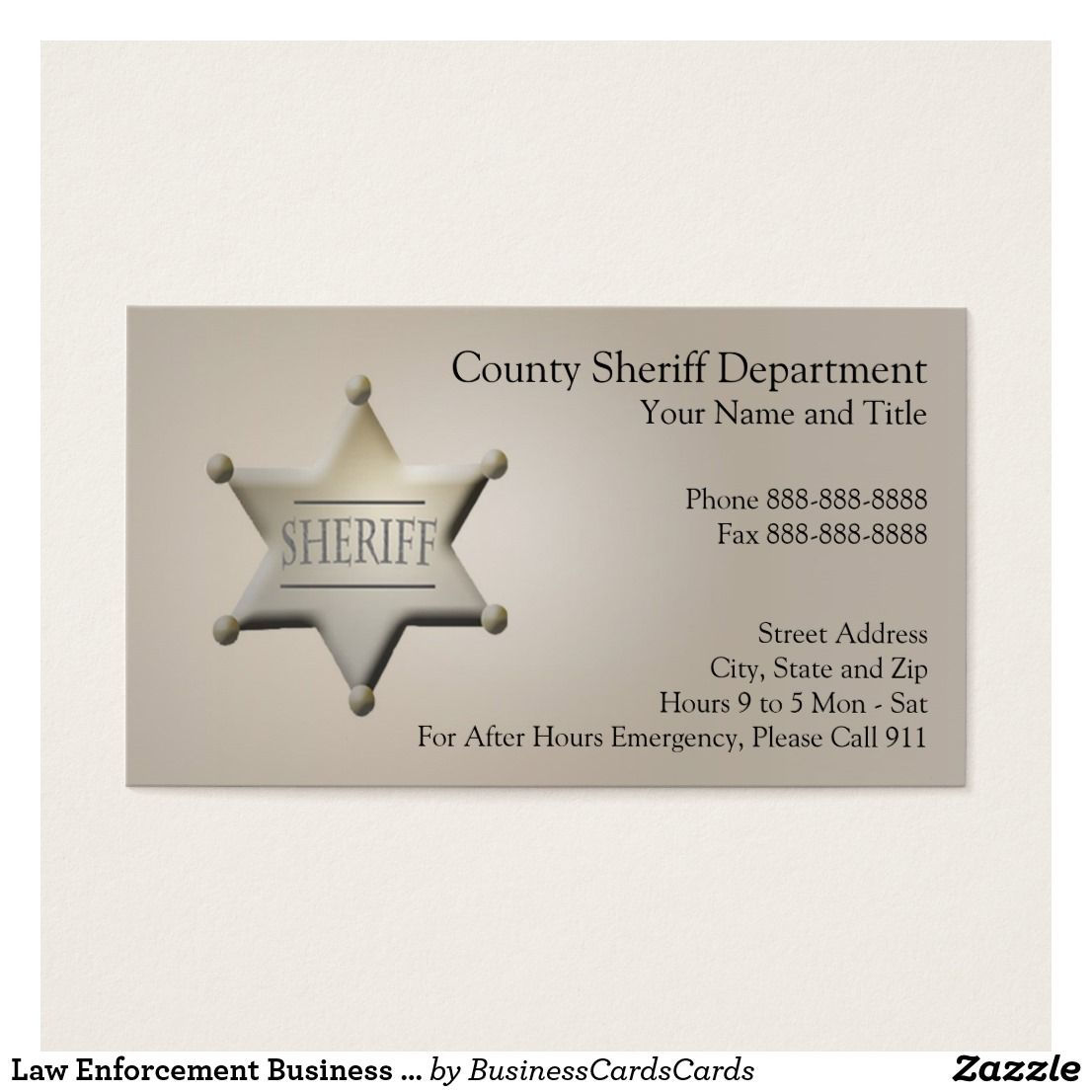 Law enforcement business card custom check out more business card law enforcement business card custom check out more business card designs at http magicingreecefo Image collections