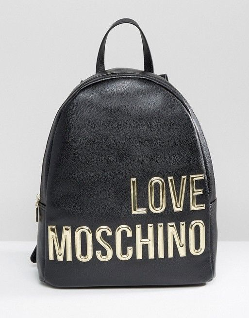 2025c2a003 Love Moschino Backpack With Large Logo in 2019 | My Style - BAGS ...