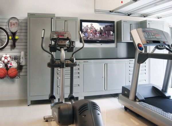 Garage Gym Ideas Equipment Storage