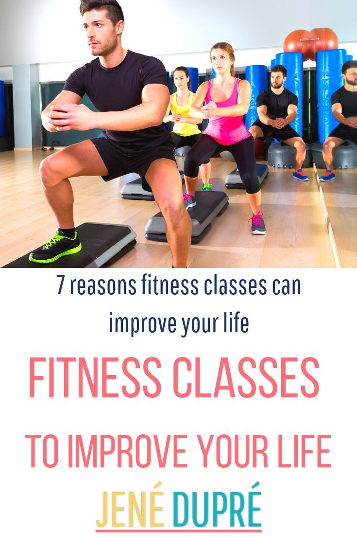 Fitness Classes are the BEST way to improve your life! Here are SO many reasons why you should start...
