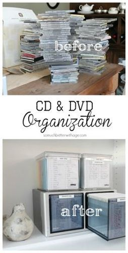 17 Creative DVD Storage Ideas For Small Space