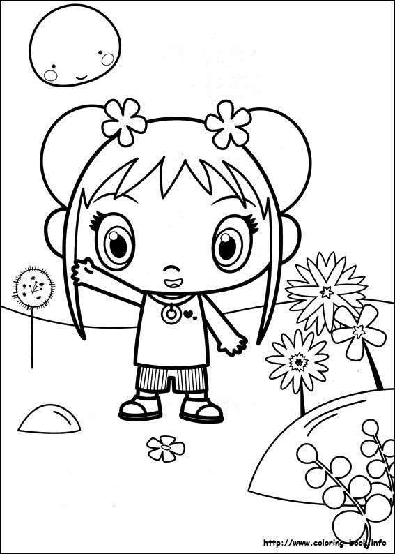 Ni Hao Kai-Lan coloring picture | Riscosss | Pinterest
