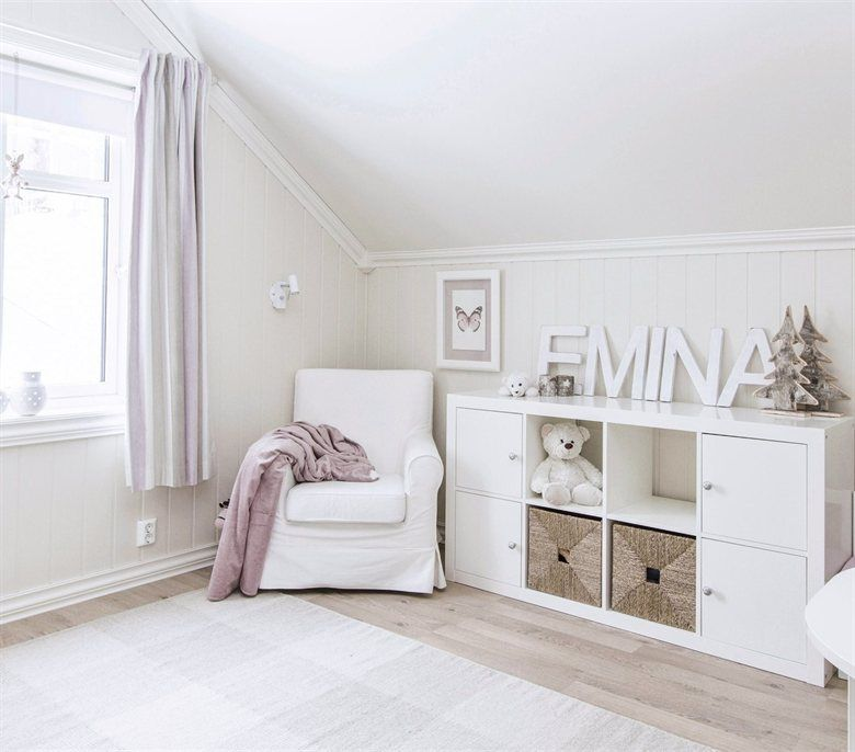 hide toys behind closed doors kallax girl 39 s room hilde 39 s home norway ikea pinterest. Black Bedroom Furniture Sets. Home Design Ideas