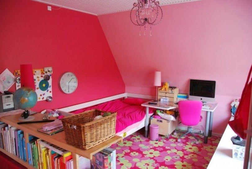 Pink Shared Kids Bedroom Ideas Living Room Amusing Cute Bedroom ...