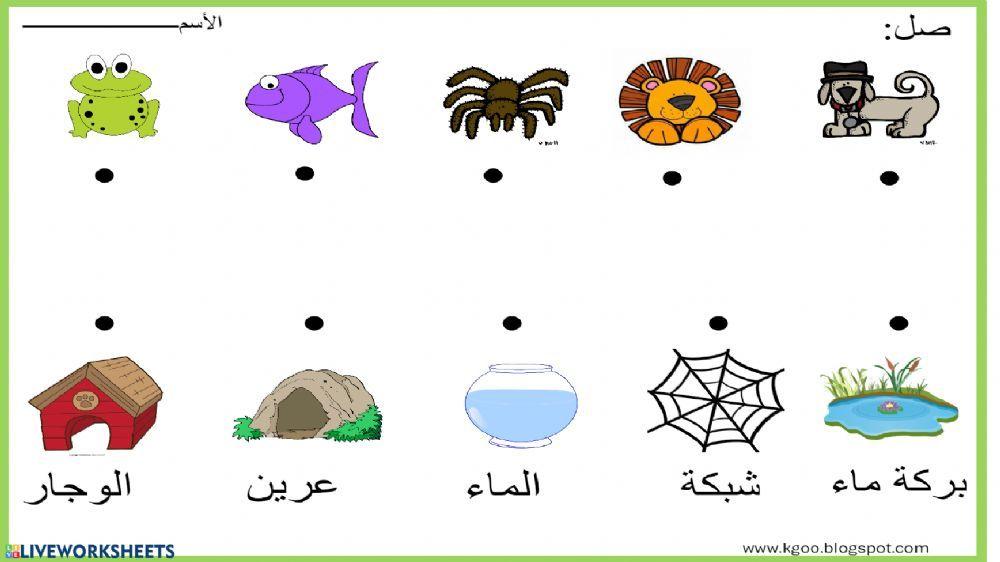 الأسبوع الأول Interactive And Downloadable Worksheet You Can Do The Exercises Online Tracing Worksheets Preschool School Activities Community Helpers Activity