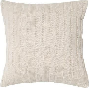 Cable Knit Decorative Pillow From Home Decorators