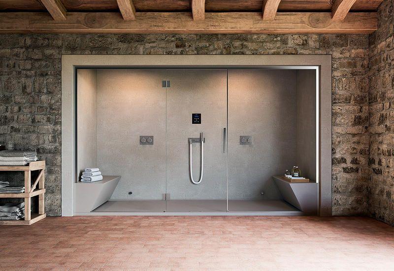 Bagni Per Case Di Campagna : Bagno turco con 4 saune da casa per una mini spa domestica elle