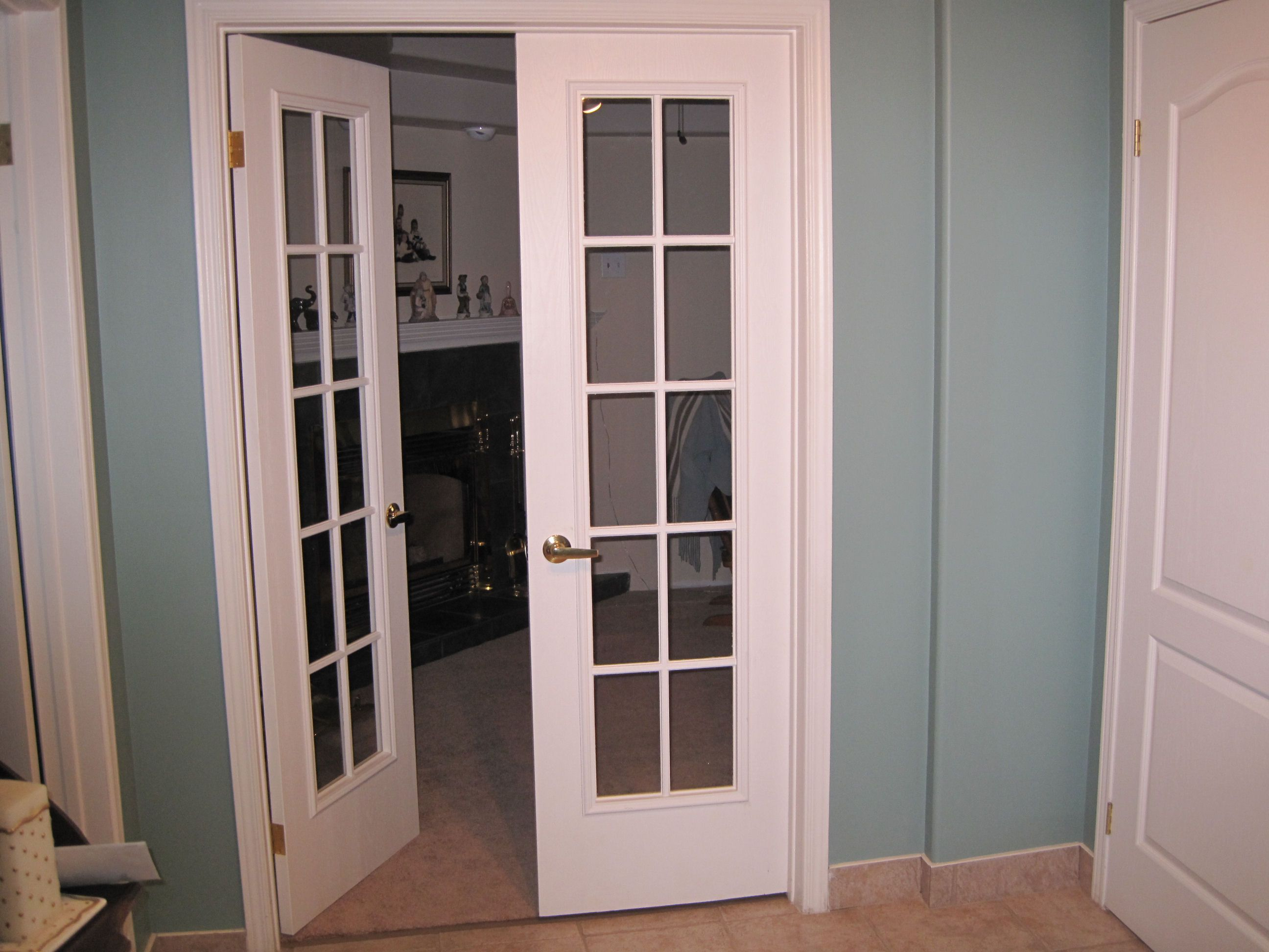 Install French Doors Interior Sevenstonesinc