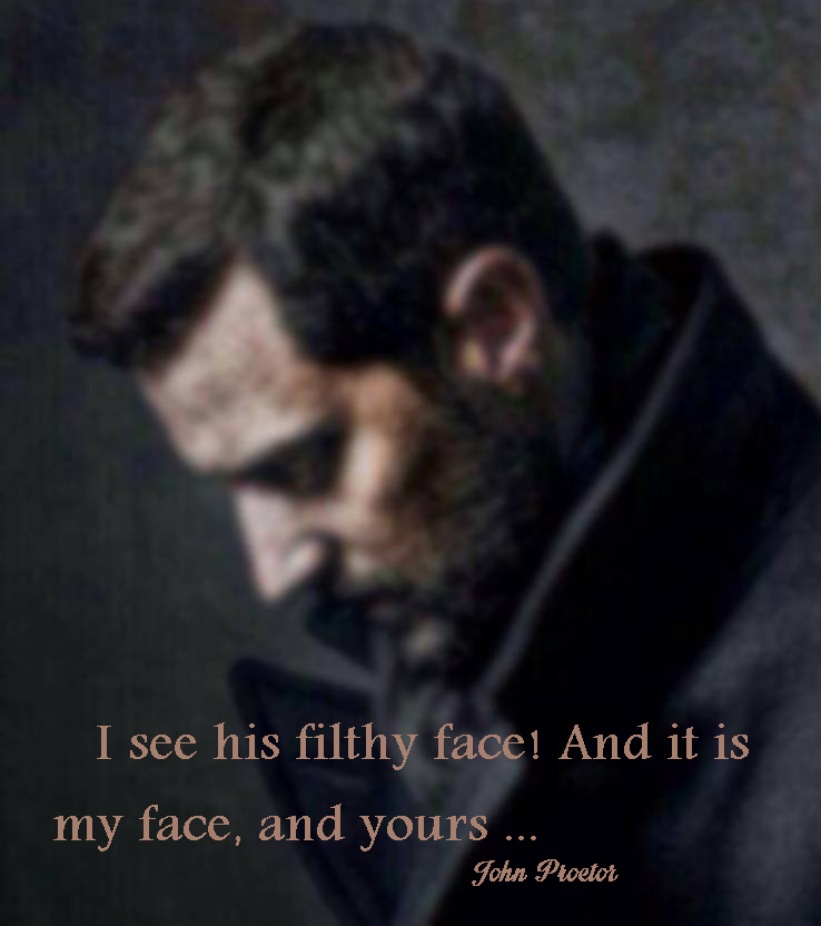 Richard Armitage John Proctor Quote From The Crucible Richard Magnificent The Crucible Quotes