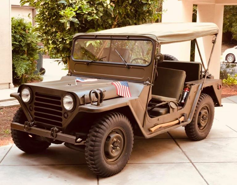 1963 M151 Body Made By Kaiser Willys Military Vehicles