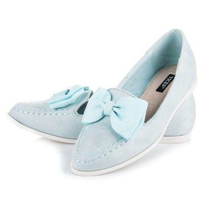 Wygodne Zamszowe Blekitne Polbuty Z Kokarda 2017 6779258668 Oficjalne Archiwum Allegro Keds Shoes Sneakers