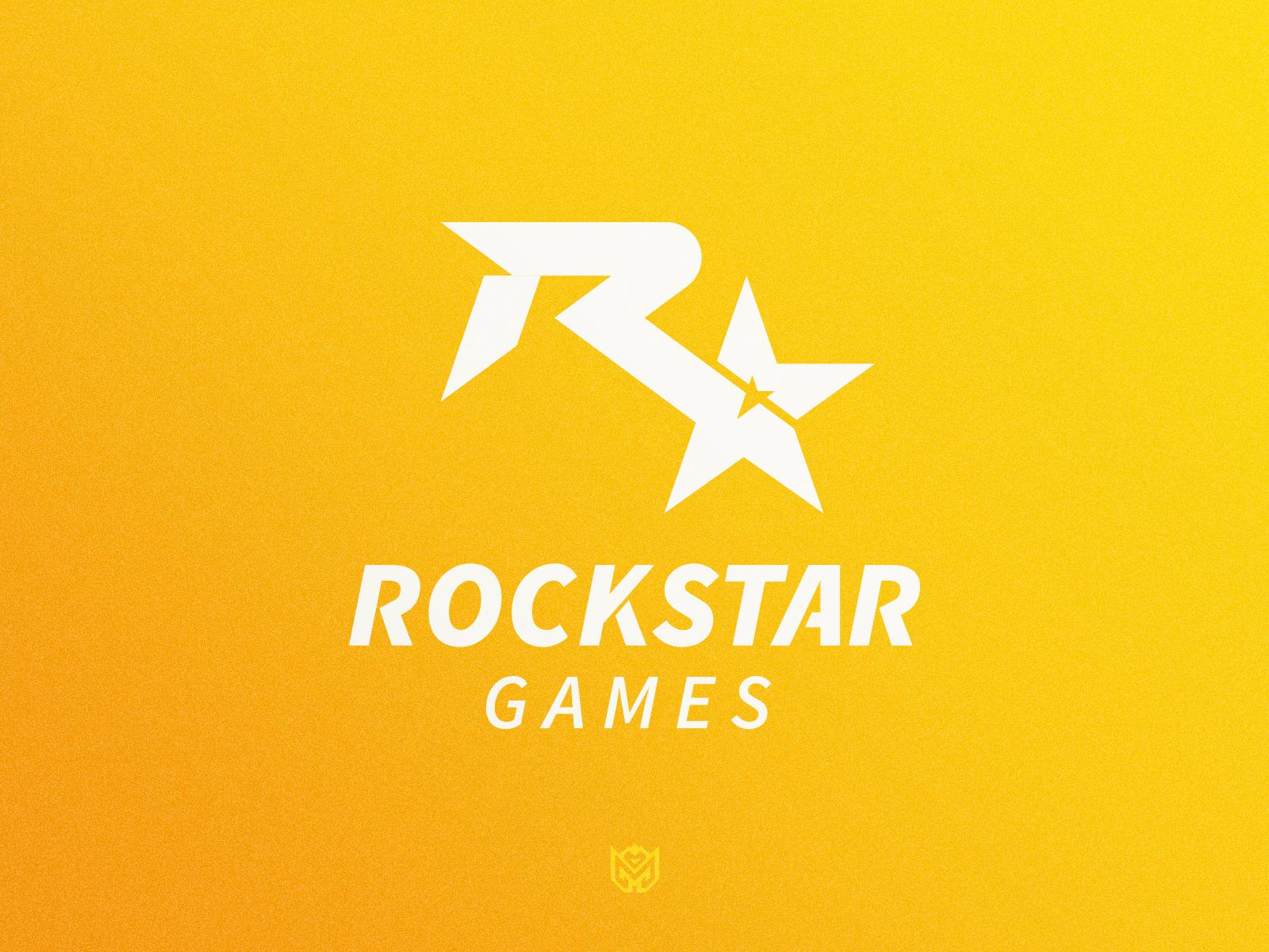 Rockstar Games Logo Redesign Rockstar Games Logo Rockstar Games Game Logo
