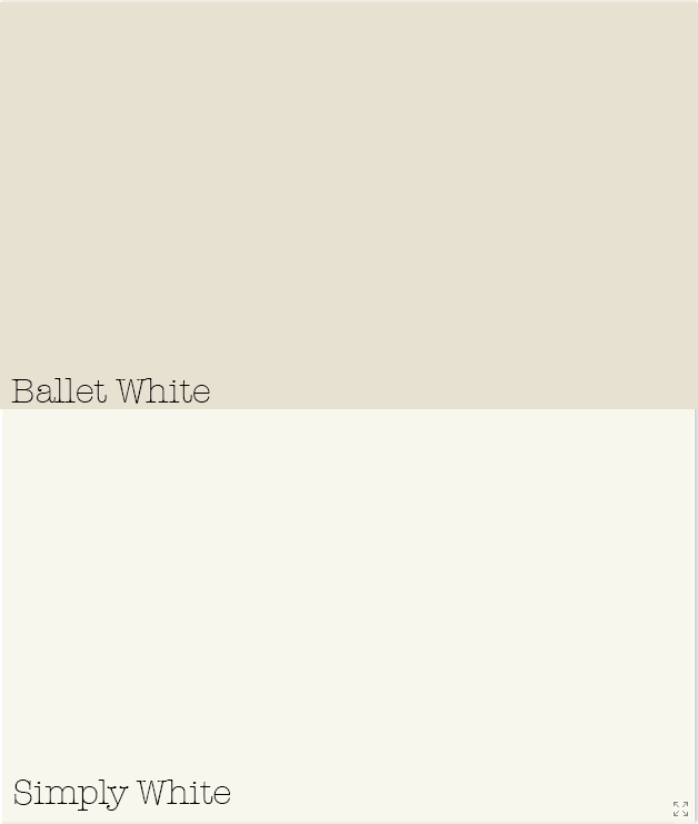 benjamin moore ballet white simply white pretty palettes pinterest benjamin moore. Black Bedroom Furniture Sets. Home Design Ideas
