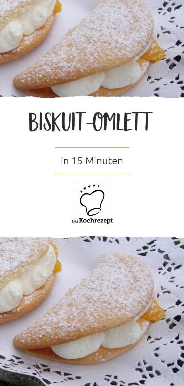 Biskuit-Omelett #recipeforbananapudding