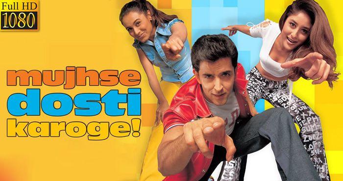 Mujhse Dosti Karoge 2002 1080p Full Hd Movie Hd Movies Bollywood Movie Bollywood Movies