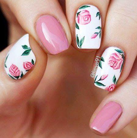 #roses #nails #cutenails #nailartist #naildesign
