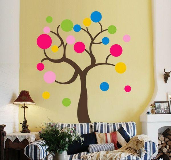 Bilder für kinderzimmer selber malen  Kinderzimmer streichen - lustige Farben für eine freundliche ...