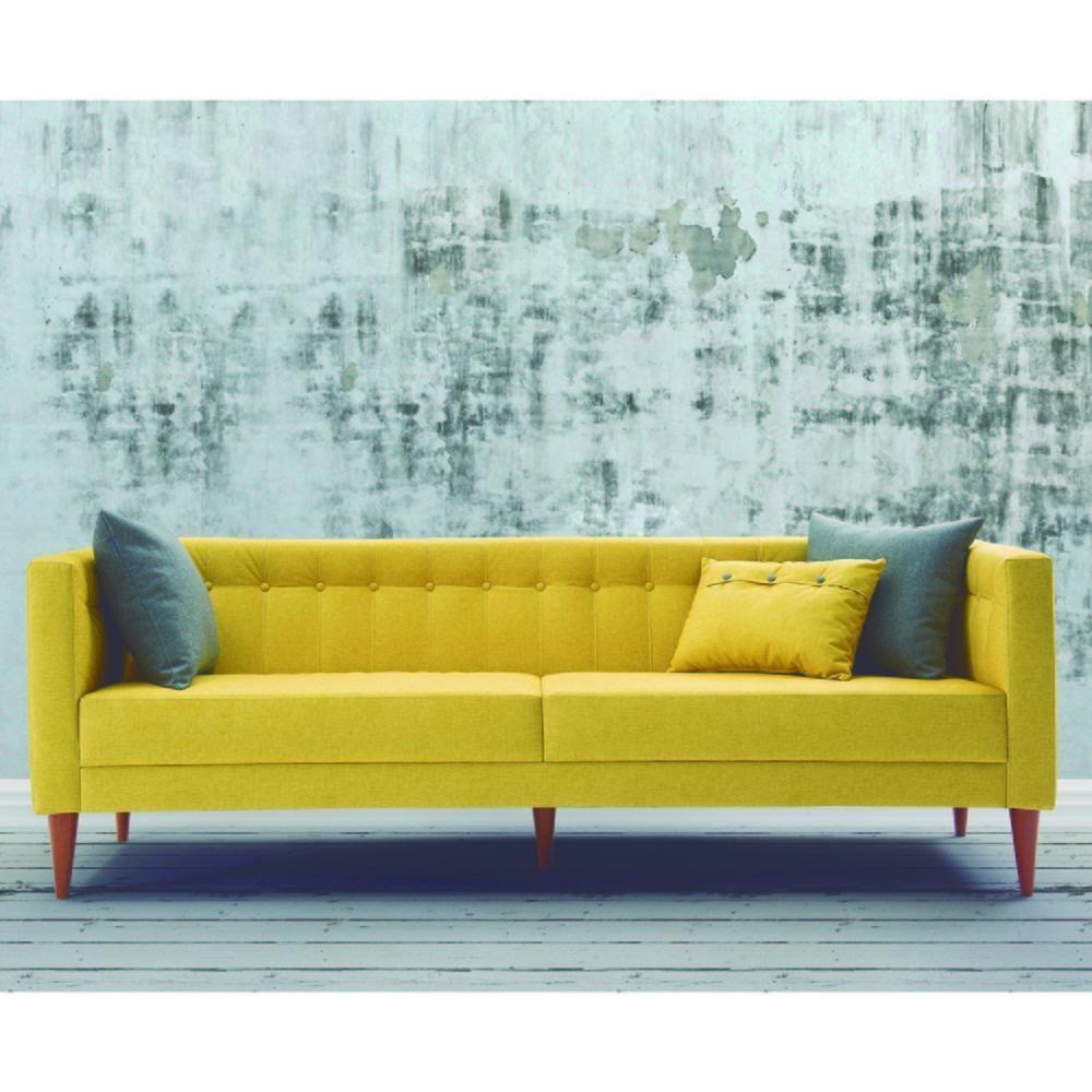 Sofá Com 3 Almofadas Neon 1,63m - Estrut... - Shoptime.com