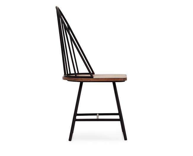 Magnolia Home Windsor Metal Side Chair