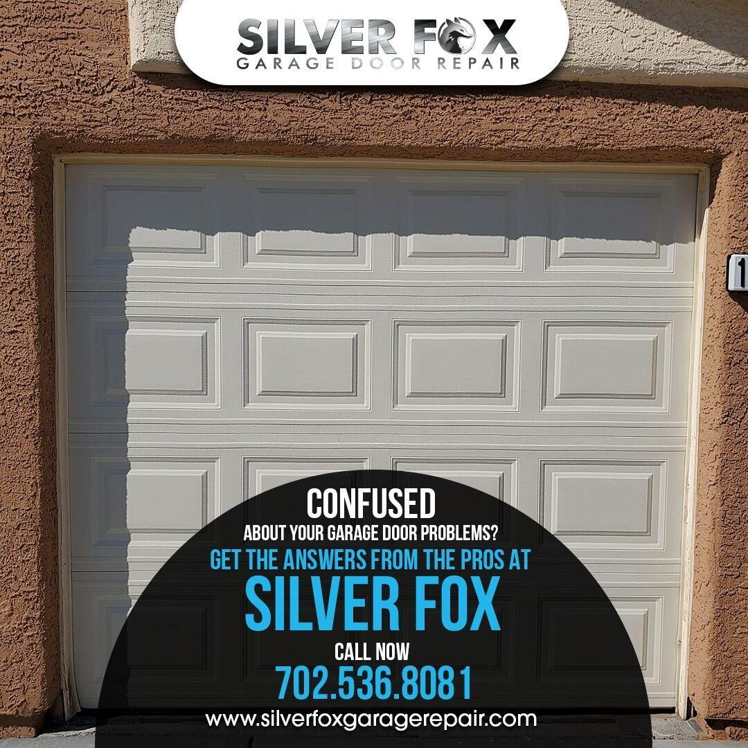 We At Silver Fox Garage Door Take Care Of Any Kind Of Commercial Door Repair In Las Vegas Our Leading Experts In 2020 Door Repair Garage Door Problems Garage Doors