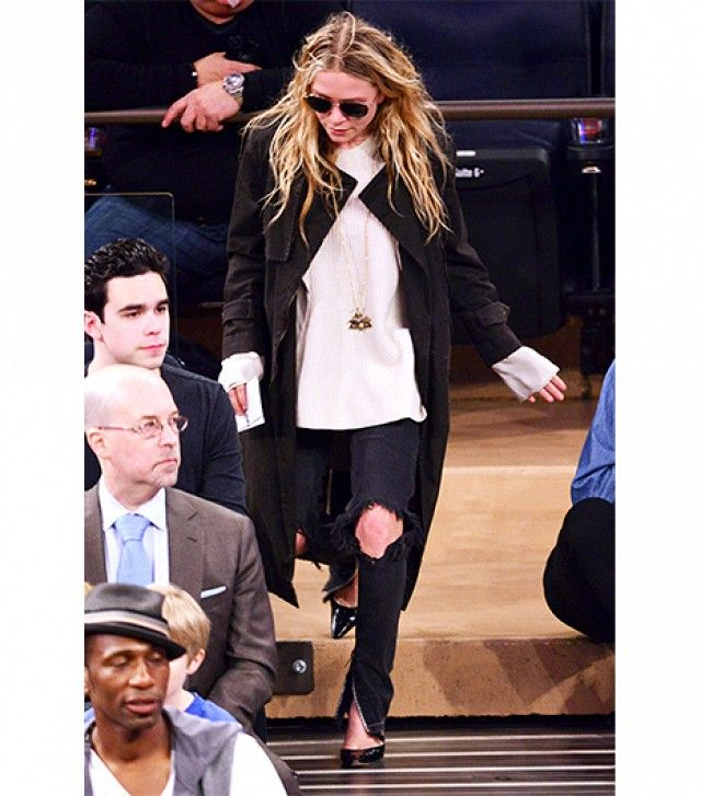 Mary-Kate and Ashley's Guide To Wearing Black via @WhoWhatWear
