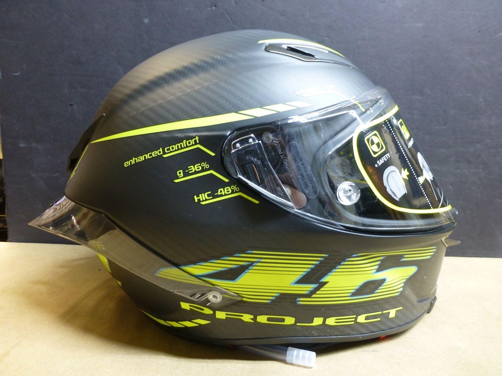 AGV Pista GP Valentino Rossi Project 46 helmet