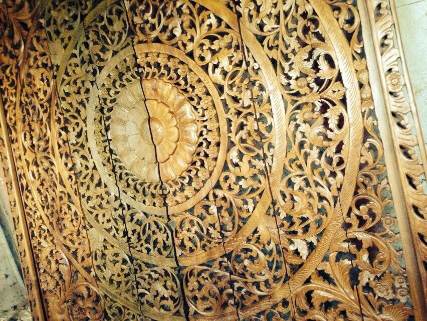 Unique Carved Wood Wall Art Decor Composition - Art & Wall Decor ...