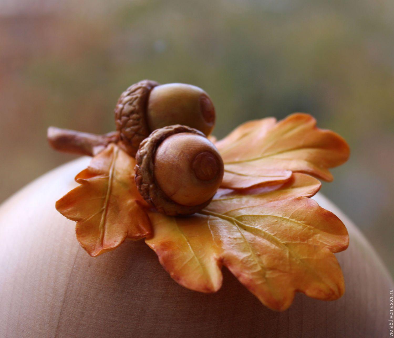 картинка грибов и желудей мастер-классы видео, как