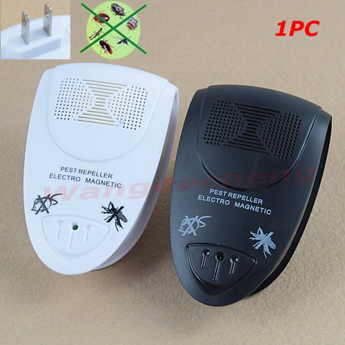 Electronic Ultrasonic Anti Mosquito Insect Pest Mouse Magnetic Repeller US Plug