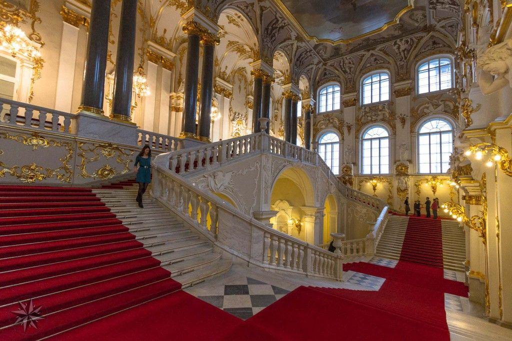 Musée de l'Ermitage, Saint Petersbourg, Russie