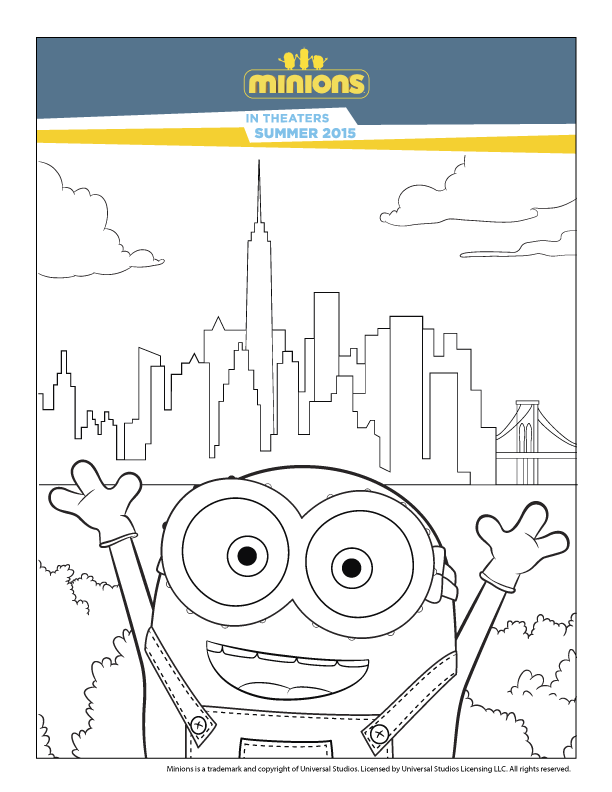 Minions Colouring Minion Coloring Pages Minions Coloring Pages Minions
