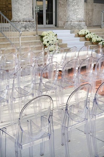Miraculous Glam Florida Art Center Wedding In 2019 Wedding Ceremony Short Links Chair Design For Home Short Linksinfo