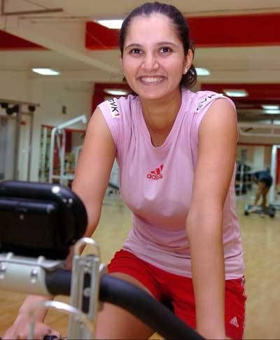Image result for sania mirza workout