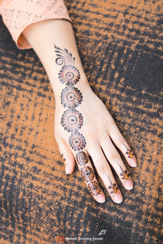 نقش الحناء الجميل البسيط أحدث تصميم نقش الحناء العربي للأيدي الخلفية 2020 Mehndi Designs For Hands Henna Hand Tattoo Hand Henna