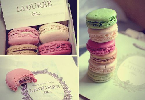Ladurée macaroons <3 a little pricey but SO worth it!