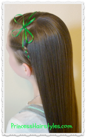 Princess Hairstyles Stpatrick's Day Hairstyle Idea  Hairstyles  Pinterest  Hair