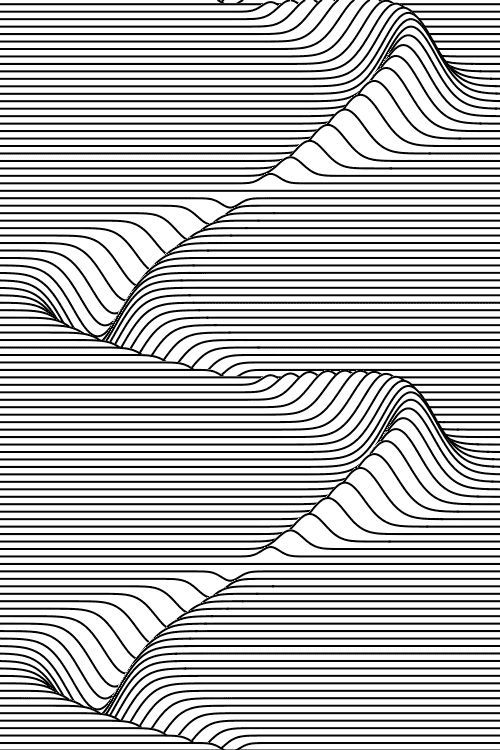 Line Optical Designer : Examples of zentangle project pinterest illusions