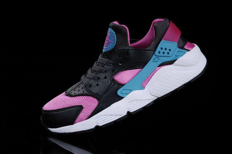 purchase cheap a814a a5f67 Nike Air Huarache Hyper Pink Dusty Cactus Medium Ash Gym Blue 318429 600
