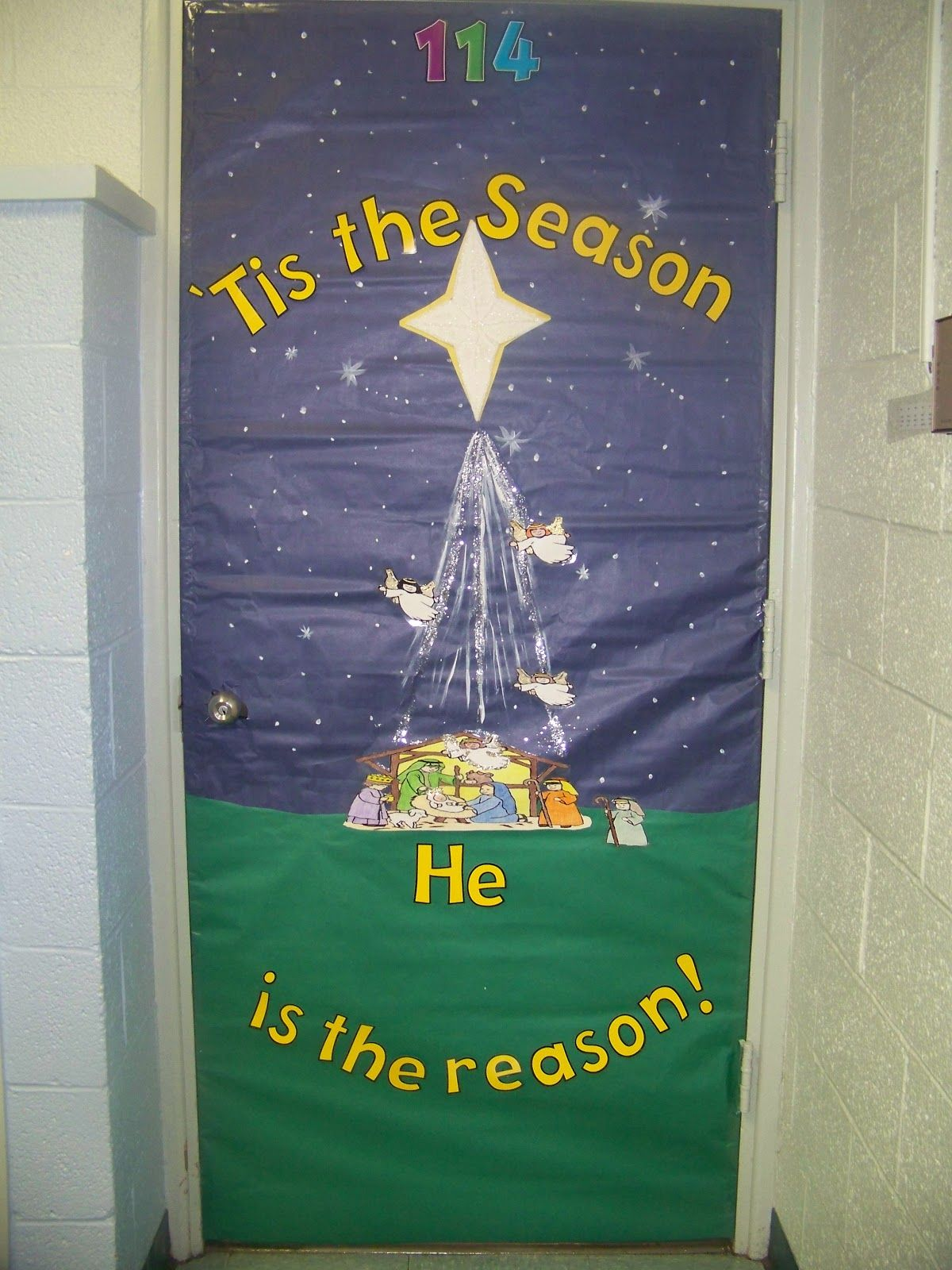 Awesome Ideas For Christian Christmas Decoration Christmas Door