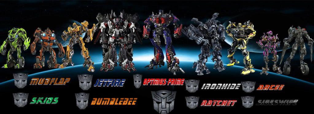Transformers Revenge Of The Fallen Autobot Team Wallpaper Team Wallpaper Transformers Autobots