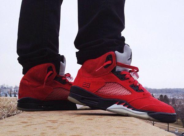on sale b31cf 5a5e1 Air Jordan 5 Toro Bravo All Jordan Shoes, Jordan V, Nike Air Jordan 5