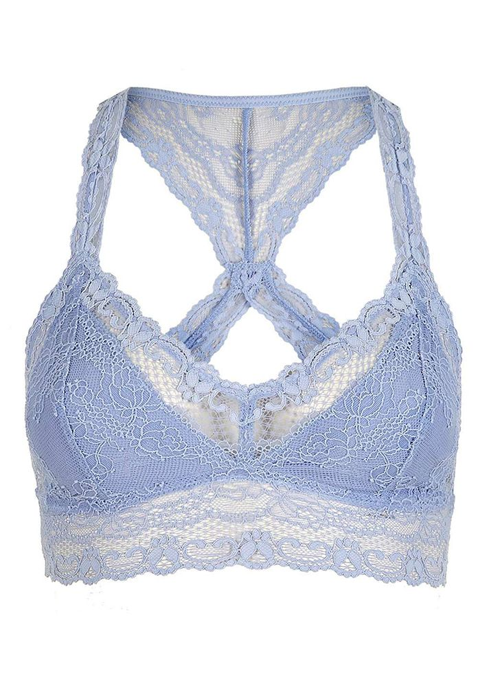 Where to buy the most stylish bralettes to wear with any outfit at @Stylecaster | Lace Crop Top, $30; at Topshop