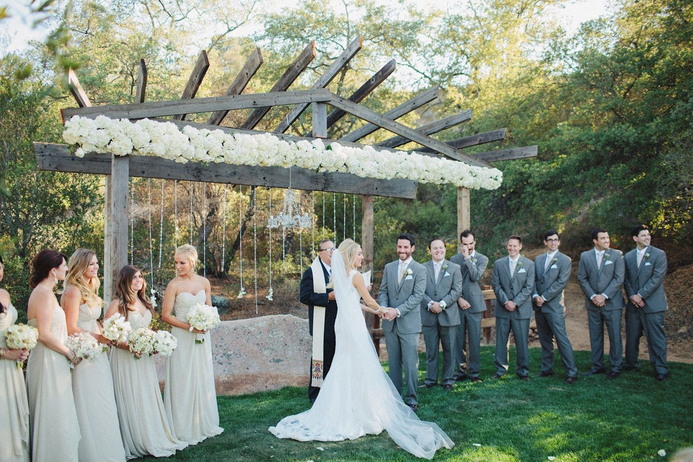 A Rustic Ranch Wedding With Splash Of Glamour