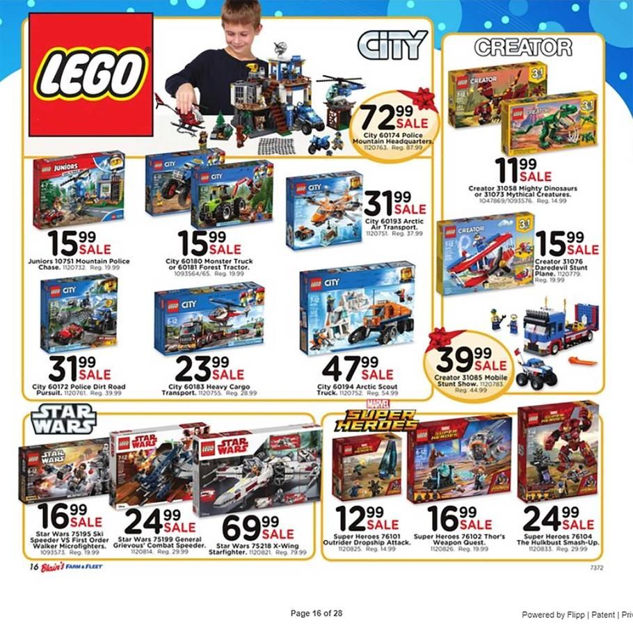 Blain's Farm and Fleet Toy Books 2018 Ads and Deals Browse