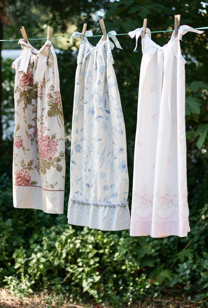 Pillowcase Nightie Tutorial | Costura, Pijama y Camisón