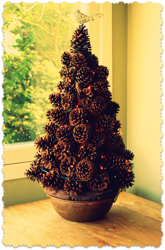 Pine cone tree christmas crafts pinterest pine cone for Pine cone tree decorations