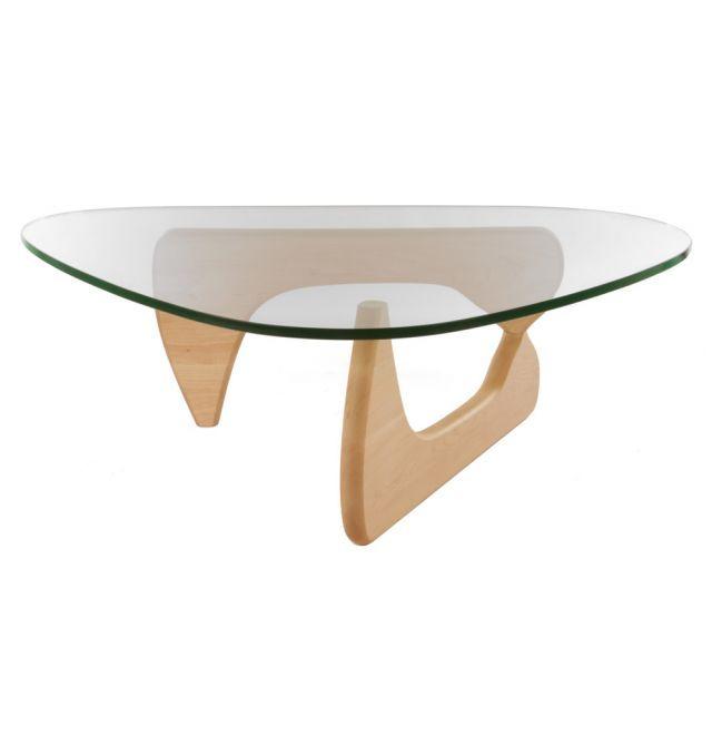 Replica Isamu Noguchi Coffee Table Premium Maple and White Oak