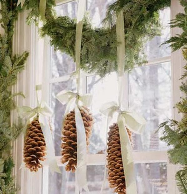 Fensterdeko zu Weihnachten: 67 super Bilder! - Archzine.net